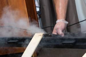 Traitement chimique par fumigation