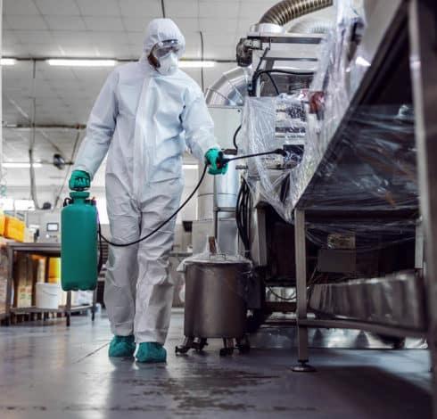 Désinfection industrie alimentaire