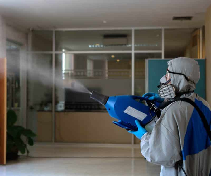 La désinfection par nébulisation