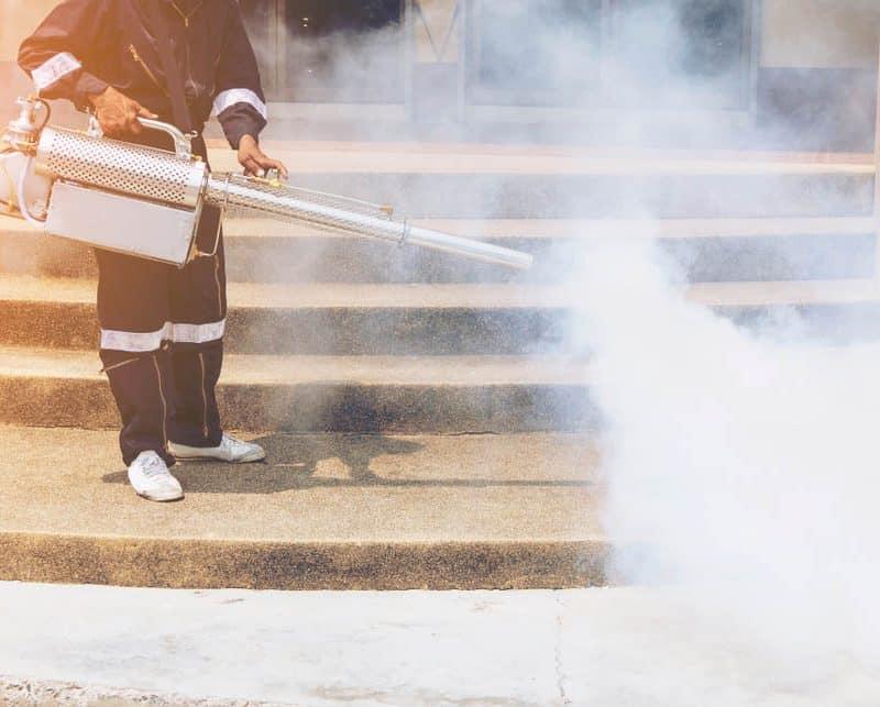 La désinfection par thermo-nébulisation