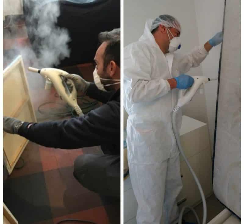 Traitement thermique par vapeur sèche
