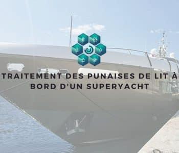 traiter rapidement des punaises de lit sur un yacht